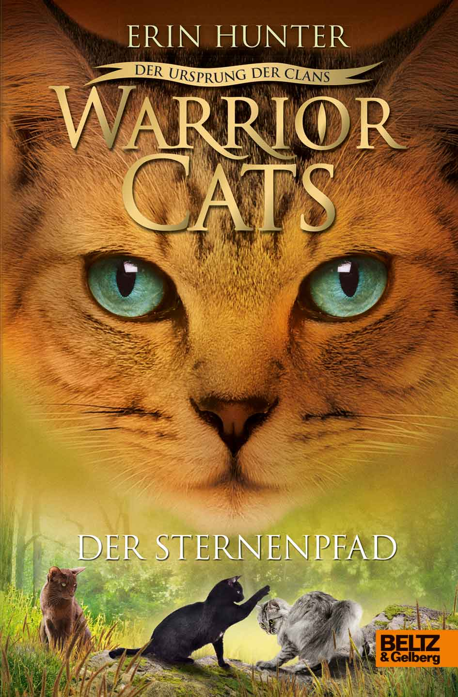 Warrior Cats Dangerous Path Cover Image